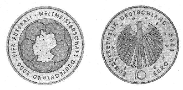 10 Euro Münze Fifa Weltmeisterschaft 2006 Ausreise Info