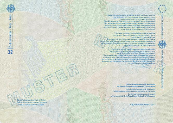 aufenthv - aufenthaltsverordnung, Einladung